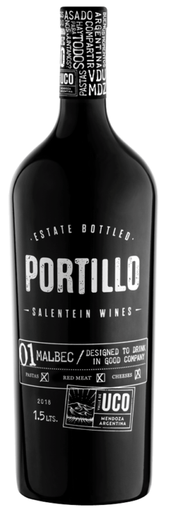 Portillo Malbec Magnum, 1.5 liter, 13.5% alc.-0