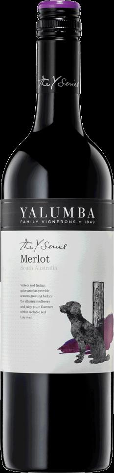 Yalumba The Y Series Merlot, 75cl, 14% alc.-0