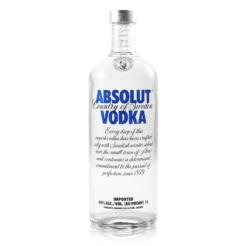Absolut Vodka, 1 liter, 40% alc.-0