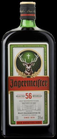 Jägermeister, liter, 35% alc-0