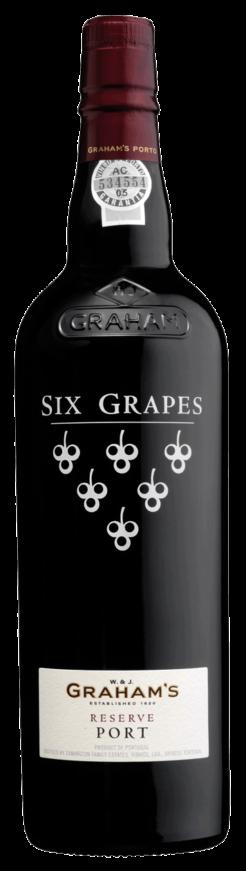 Graham's Six Grapes Reserve Port, 75cl, 20% alc.-0