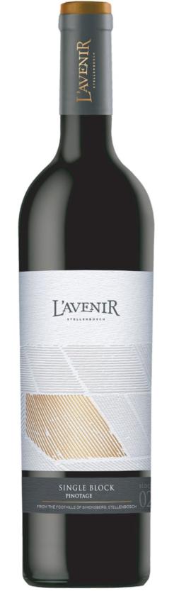 L'Avenir Single Block Pinotage, 75cl, 14% alc.-0
