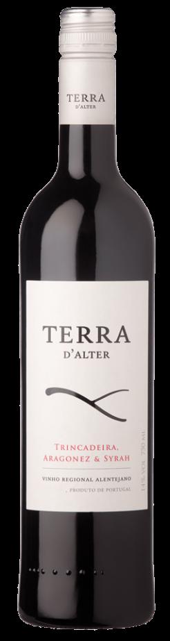 Terra d' Alter Tinto (Trincadeira, Aragonez & Syrah), 75cl, 14% alc.-0