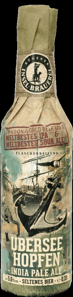 Insel Brauerei Überseehopfen, 75 cl, 5.6% alc.-0