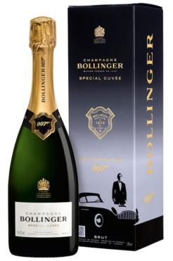 Bollinger James Bond 007 Special Cuvée Limited Edition Gift Box, 75 cl., 12% alc-0