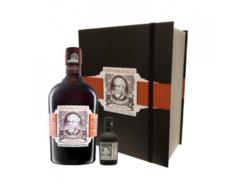 Giftpack Diplomatico Rum Mantuano 70 cl met 5 cl Reserva Exclusiva, 40% alc.-0