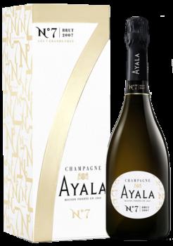 Ayala N° 7 Brut 2007 (in luxe geschenkdoos), 75cl, 12%-0