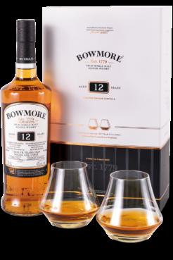 Bowmore Islay Single Malt 12Y Gift Box , 0,7 ltr., 40% alc-0