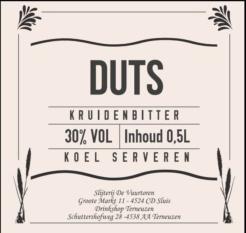 DUTS Kruidenbitter, 50cl, 30%-0
